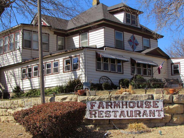 """Kansas Flint Hills Quilt Trail: Eisenhower Trail---""""Kansas Trouble"""" Mr. K's Farmhouse Restaurant, 407 S. VanBuren, Abilene KS 67410"""