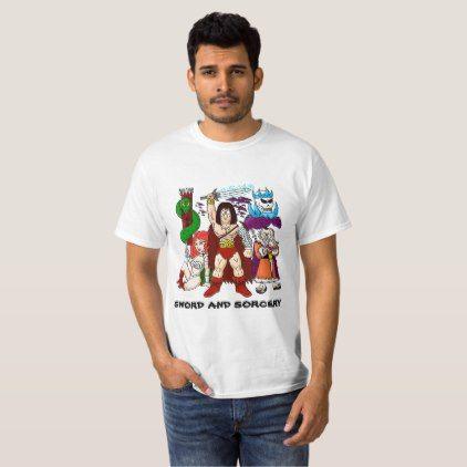 SWORD and Sorcery T-Shirt  $19.95  by Ocean_Dreams  - cyo customize personalize unique diy idea