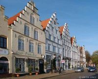 Friedrichstadt, Stadt in Nordfriesland, Schleswig-Holstein/ Deutschland, gegründet 1621 und von Holländer erbaut.