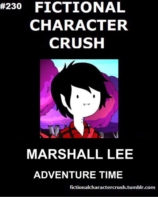Marshall lee !! Is it bad that I'm in love with a fictional character??  I don't care he is sexy and hot! Love u Vampire King!!