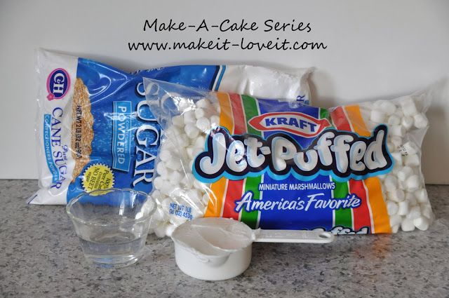 Made marshmallow fondant before, it's delish!!!...need to try this recipe. Courtesy of Make It and Love It.