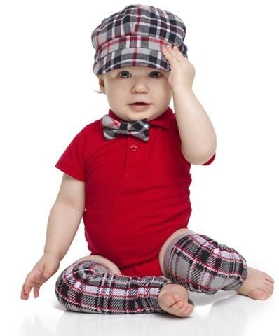 Red & Grey 3 Pc Birthday Cabi Outfit - 1 - 3 Yrs - $24.99