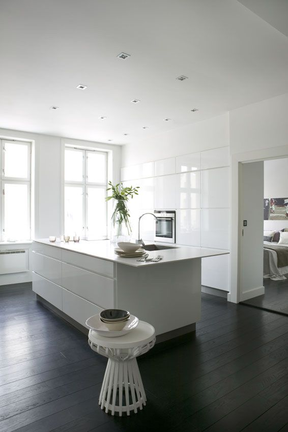 Remember when I dreamed about a white kitchen...and then he built it for me??? :)
