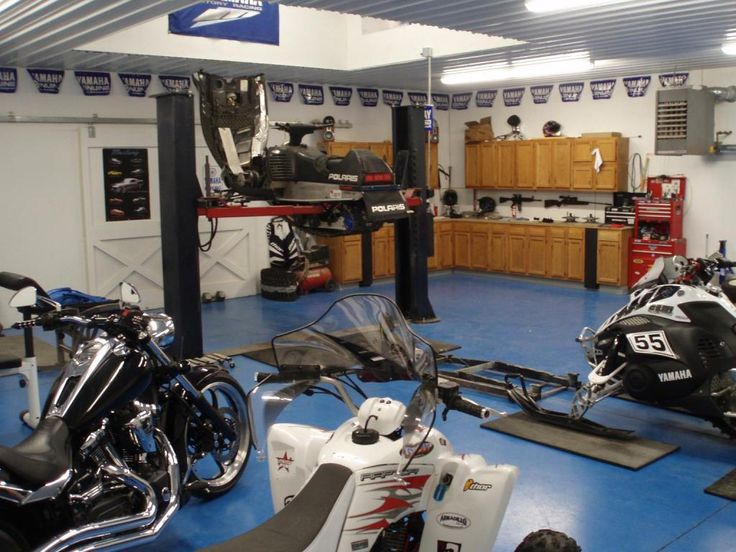 7 best man cave garages images on Pinterest | Garage ideas, Garage ...