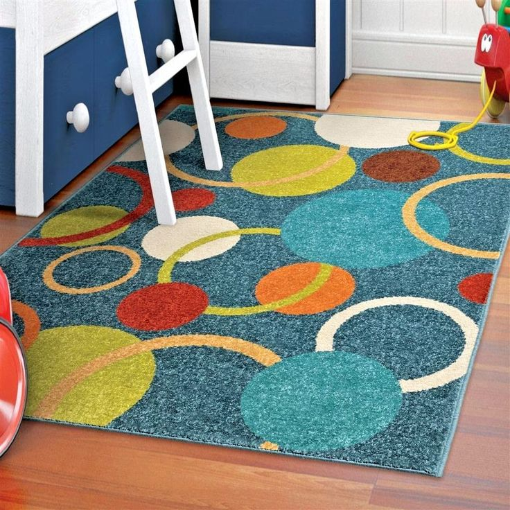 kids rugs kids area rug childrens rugs playroom rugs colorful rugs with circles - Colorful Area Rugs
