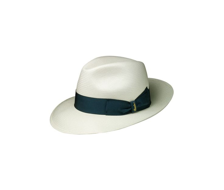 Thin Panama straw hat. Product code: 140340 Shop it here: http://shop.borsalino.com/en/mans-collection/springsummer/straw-hats/straw-hats-20.html