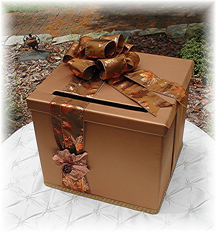 16 best DIY Wedding Card Box Ideas images – Fall Wedding Card Boxes