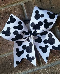 Cheer Bow Disney Cheer Bow Summit or by CurlyNoodleCreations Cheer Bows