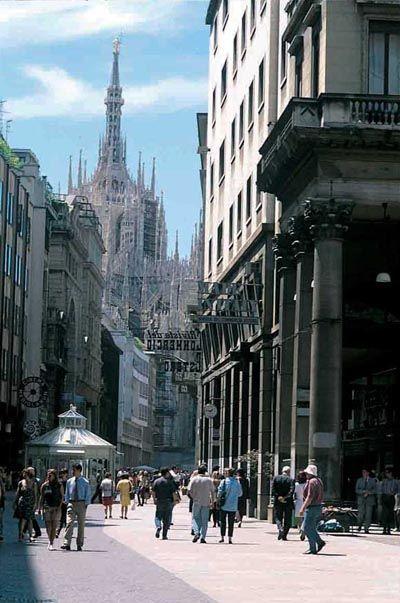 Central Milan