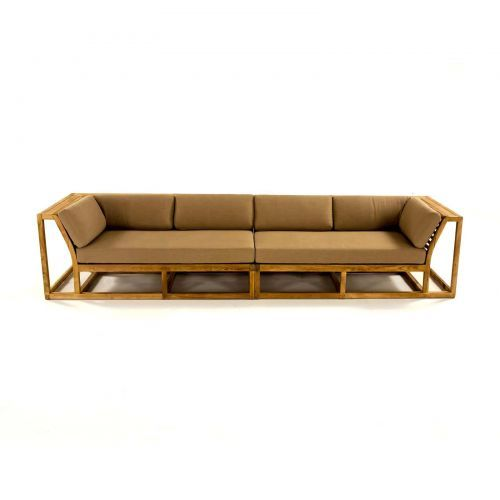 17 Best Teak Sectional Sofas Images On Pinterest Teak Outdoor Furniture Sectional Sofas And
