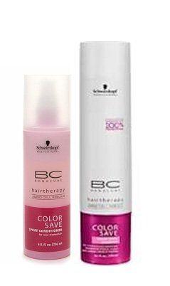 Schwarzkopf BC Color Save Silver Shampoo 85 oz  Spray Conditioner 68 oz * undefined #ShampooandConditionerSets