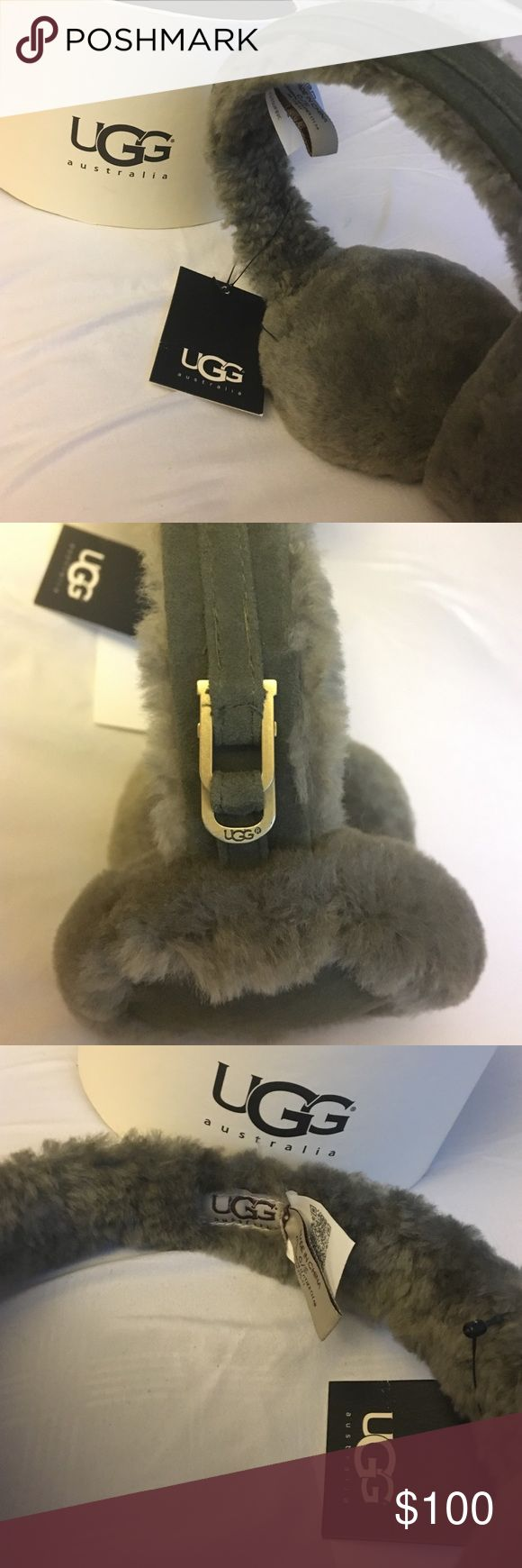 Grey UGG Australia Earmuffs Add warm and comfortable UGG earmuffs to your flawless winter outfit. Never worn or used. Item comes with tags. UGG Other