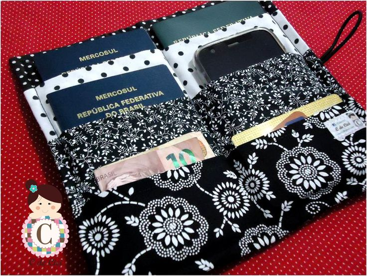 C de Cici: 1 Projeto por Mês #11: porta passaportes (família)...