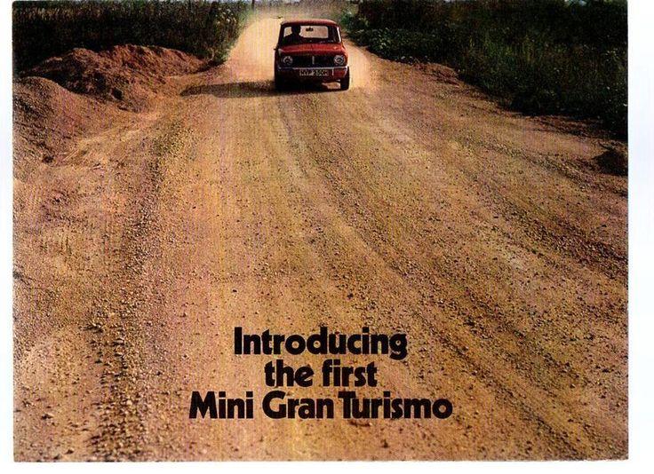 MINI 1275 GT BROCHURE 1969 PUB NO 2686 (NO4)