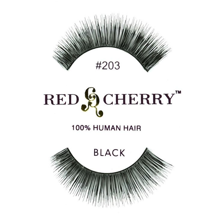 Gene False Red Cherry 203 doar pe http://www.makeup-shop.ro