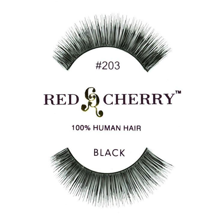 Gene False Red Cherry 203 doar pe http://www.makeup-shop.ro