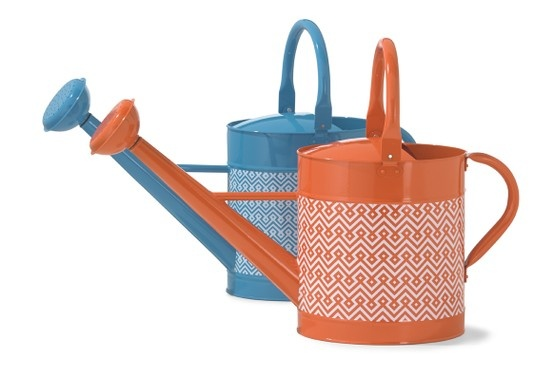 With these bright neon watering cans, even watering the plants can be #fashionable!