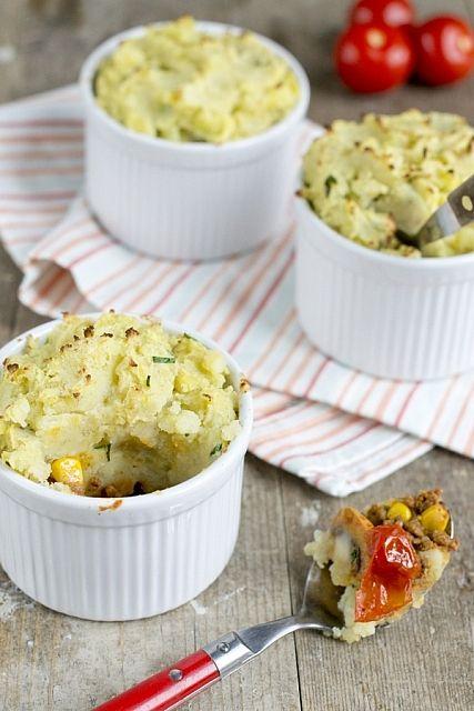 Mexicaanse gehakt-aardappel potjes (zoutarm recept)