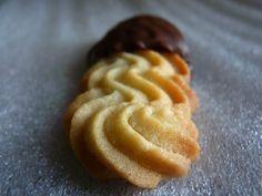Spritz au chocolat, le biscuit viennois qui fond dans la bouche et la tasse