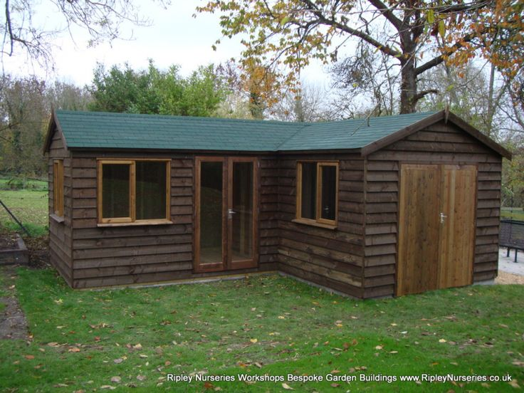 25 best ideas about workshop shed on pinterest workshop for L shaped shed