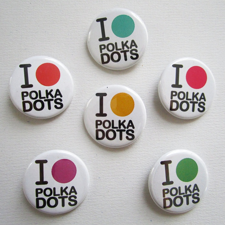 I Heart Polka Dots --  how did you know that I love polka dots??  www.sisterswithbeauty.com Approved..:)