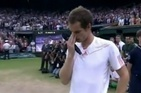July 9, 2012    Andy Murray's Teary Wimbledon Speech Is Why We Love Sports [VIDEO]