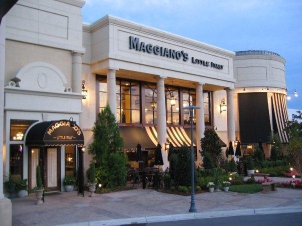 Italian Restaurant Southpark Mall Charlotte Nc