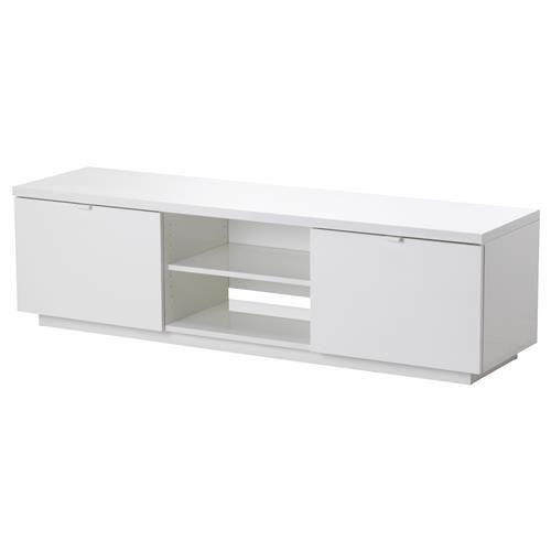 BYAS TV шкаф, 160x42x45 см, гланц бяло - IKEA