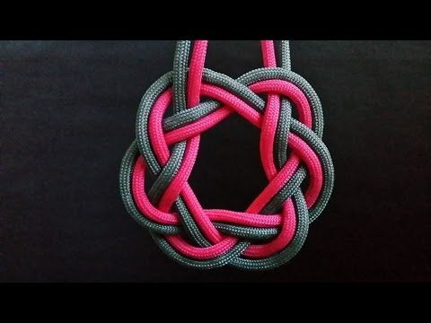 How to tie Celtic Ring Knot - YouTube