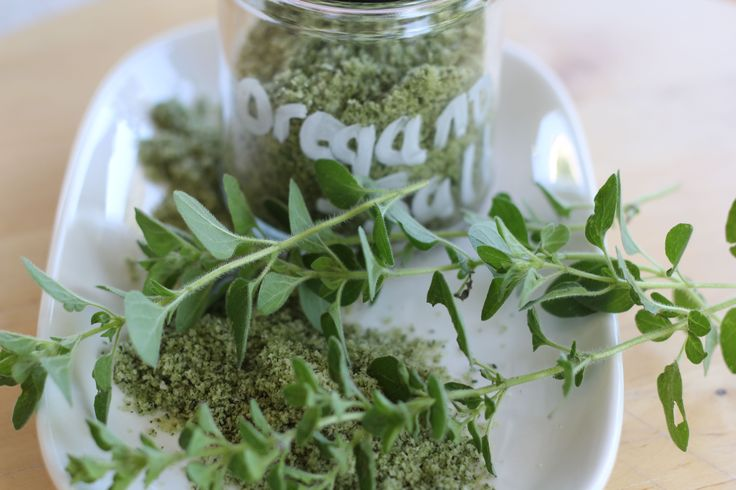 Oregano salt - a flavour packed addiction