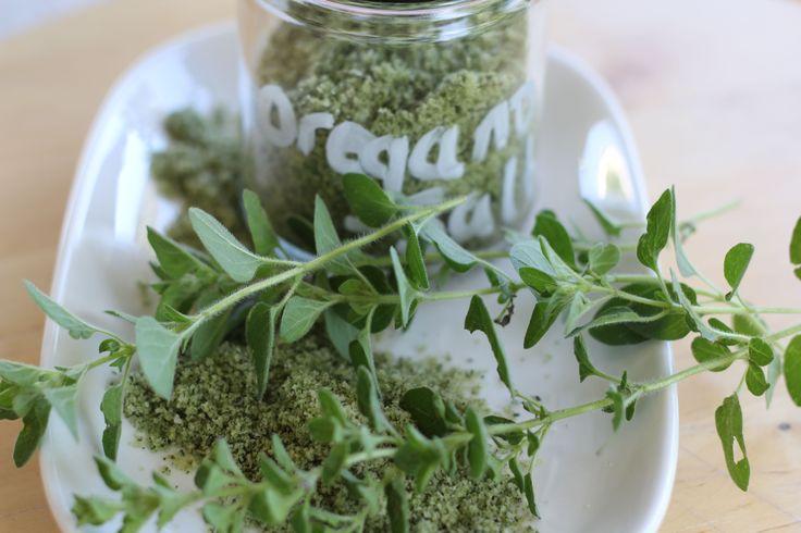Oregano salt - a flavour packed addiction