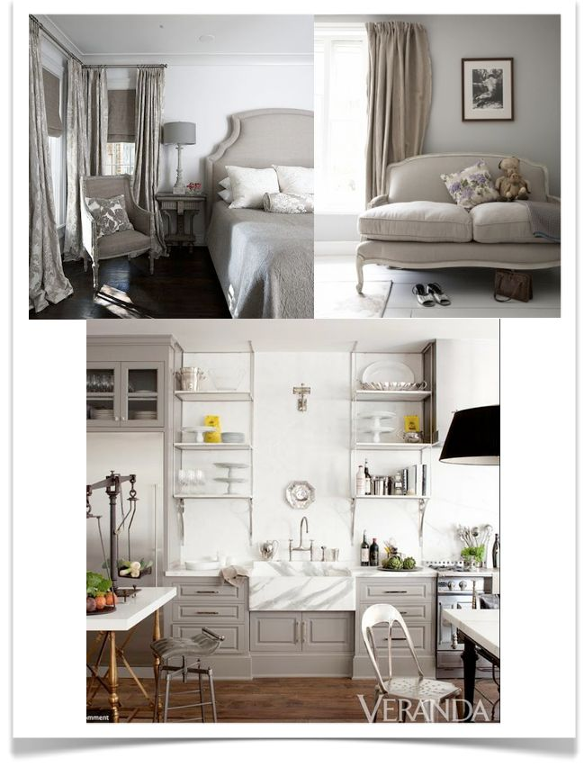 Yesterday, I was speaking to a client about the difference between grey, greige, beige and taupe.     It's a conversation I have A LOT!...