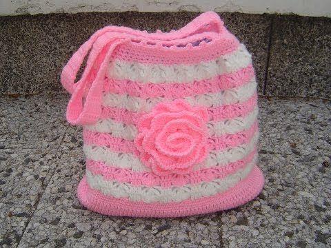 Como tejer el Punto Salomon en tejido crochet tutorial paso a paso. - YouTube