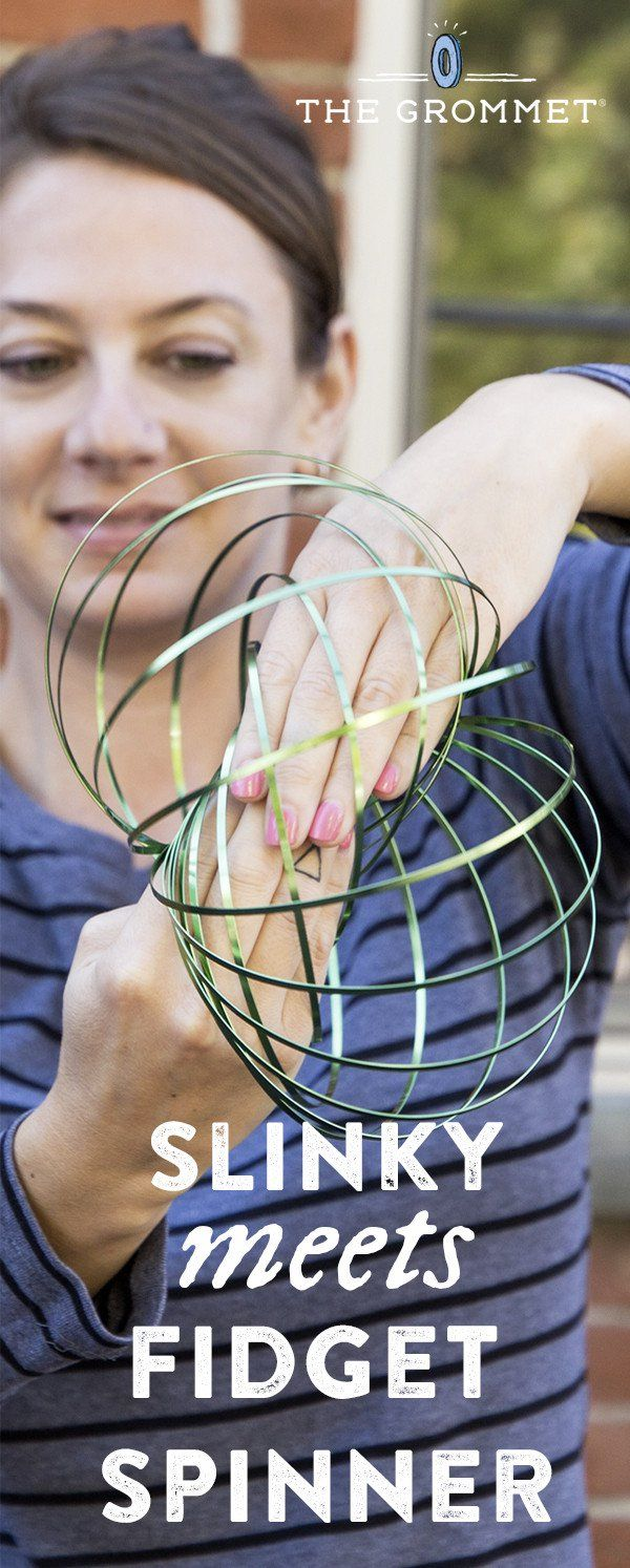 MOZI. Flow Ring: Arm Spinner Toy, $15.95 This is a slinky-meets-fidget toy for your arm. It's one of those simple, yet addictive toys for people of any age.