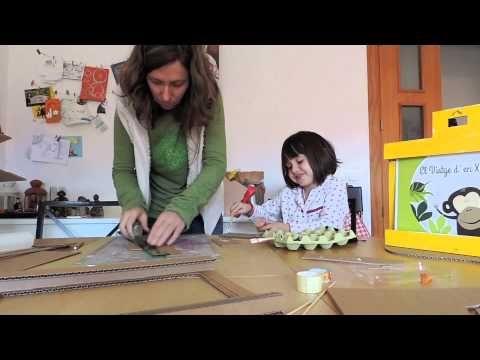 ¿Cómo hacer un kamishibai de cartón? - YouTube