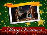 Image for service background Merry Christmas