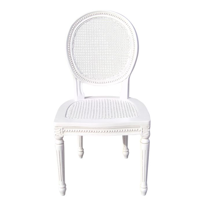 French Chateau White Rattan Dining Chair http://www.la-maison-chic.co.uk/dining-chairs/french-chateau-white-rattan-dining-chair--Chateau_White_Dining_Table_with_Washed_Wood_Top.html