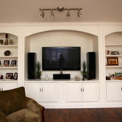 Best Media Rm Images On Pinterest Built In Tv Wall Unit - Built in cabinets entertainment center design pictures remodel