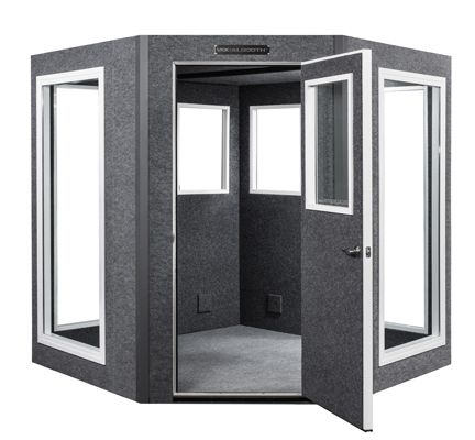 Diamond Series VocalBooth - Sound Isolation w/ Non Parallel Walls