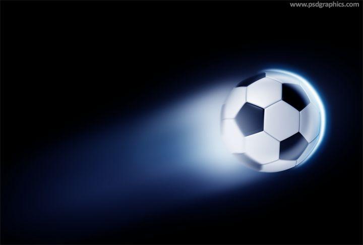 Download Free Flying Football Scene Mockup In Psd Football Mockup Scene