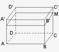 Solved Math  Problems : Geomerty - an Aquarium a right prism