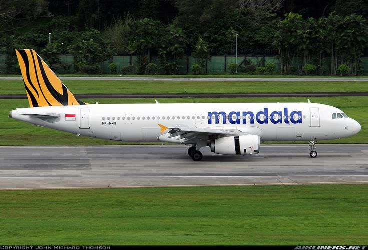 Mandala Airlines - Airbus A320-232