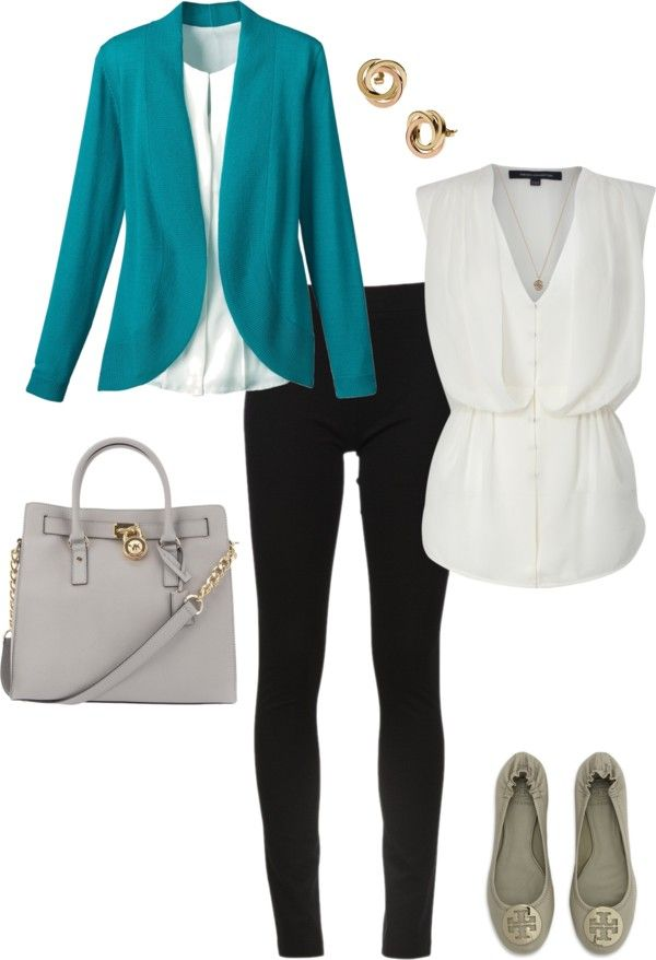 "Love the color combo here!! ""Work Wear"" by rachel7127 on Polyvore"