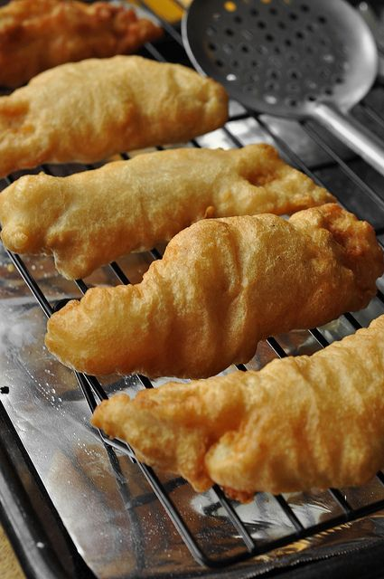 Beer Battered Fish and Chips w/ Spicy Remoulade! Satisfy your taste buds with tasty dishes from seasonproducts.com!