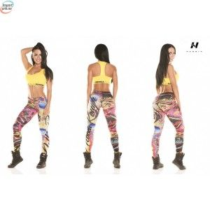 Leggings Art Skull