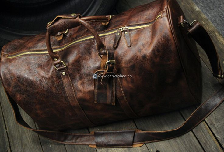 Travel Accessories for Men | Men's Travel Bags - Genuine Leather Canvas Bag CanvasBag.Co