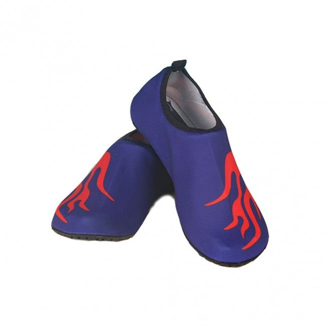 Fire Water Skin Shoes For Adults Blue
