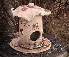 Dekorácie - Búdka pre vtáčiky III. - 8339600_