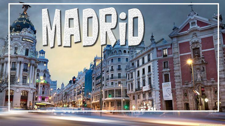 descubre la sorprendente ciudad de MADRID con increíbles tomas aéreas, lugares turísticos, sus monumentos importantes y otras curiosidades NO OLVIDES SUSCRIB...
