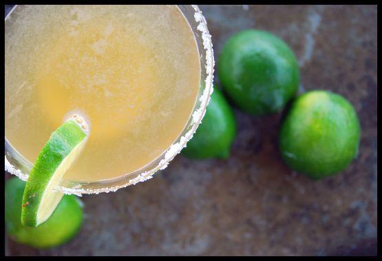Top Shelf Margarita Recipe - Food.com (use margarita mix and a splash of good OJ)